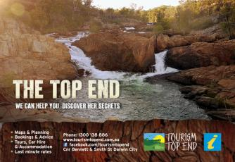 Tourism Top End graphic design