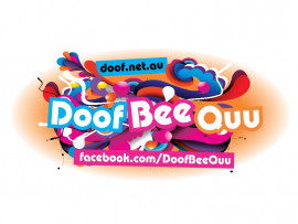 Doof Bee Quu logo design