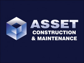 Asset Construction & Maintenance logo design