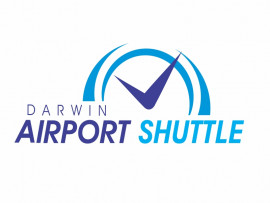 Darwin Airport Shuttle logo design