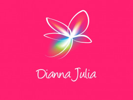Dianna Julia logo design