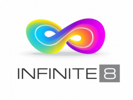 Infinite 8 Studios logo design