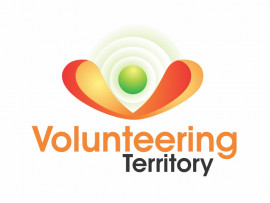 Volunteering Territory logo design