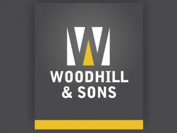 Woodhill and Sons logo design